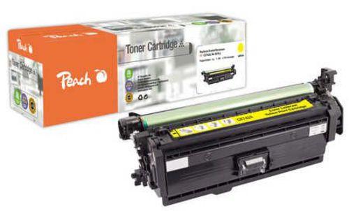 Peach Tonermodul gelb, kompatibel zu HP No. 307, CE742A y