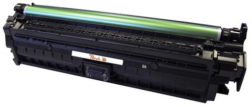 Peach Tonermodul schwarz kompatibel zu HP No. 650, CE270A bk