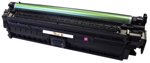 Peach Tonermodul magenta, kompatibel zu HP No. 650, CE273A m
