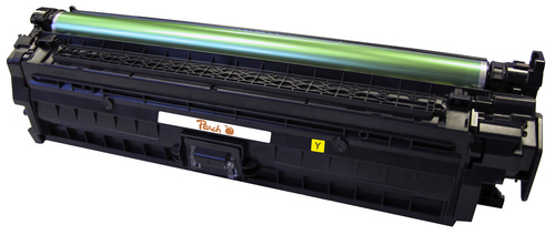 Peach Tonermodul gelb, kompatibel zu HP No. 650, CE272A y