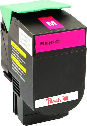Peach Tonermodul magenta kompatibel zu Lexmark C540H2MG, C54x, X54x