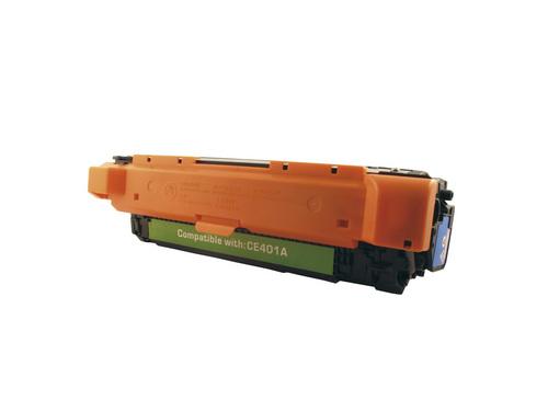 Peach Tonermodul cyan, kompatibel zu HP No.507, CE401A