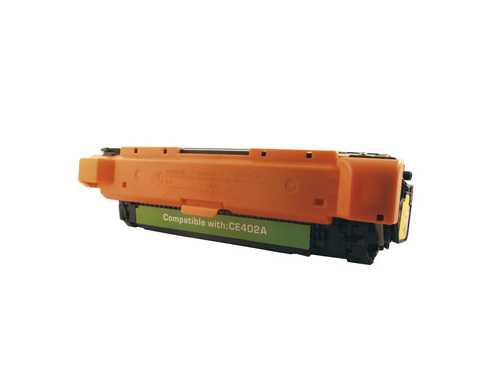 Peach Toner Module jaune, compatible avec HP No.507, CE402A