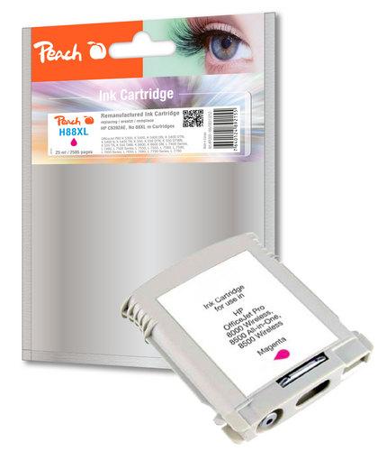 Peach Tintenpatrone magenta kompatibel zu HP No. 88XL, C9392AE