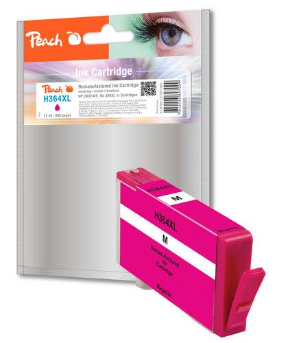 Peach Cartouche d'encre magenta compatible avec HP No. 364XL, CB324EE