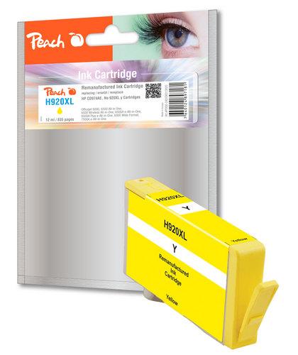 Peach Tintenpatrone gelb kompatibel zu HP No. 920XL, CD974AE