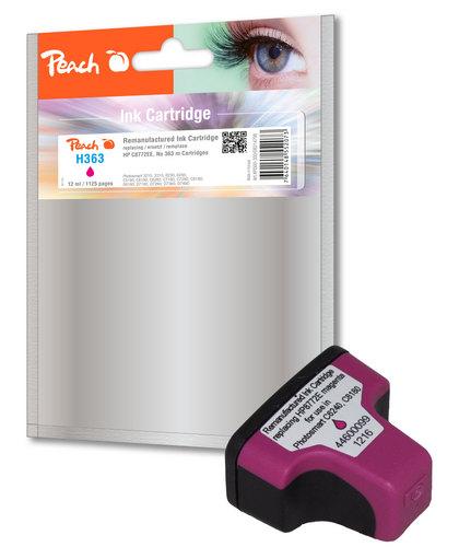 Peach Cartouche d'encre magenta compatible avec HP No. 363, C8772EE