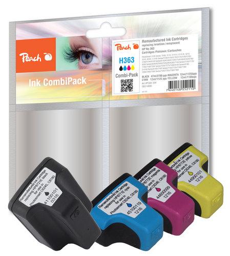 Peach Multipack compatible avec HP No. 363