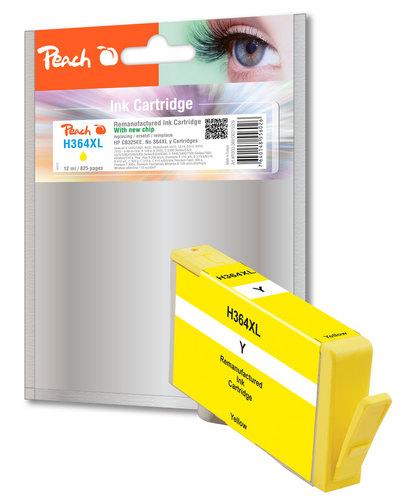 Peach Tintenpatrone gelb kompatibel zu HP No. 364XL, CB325EE