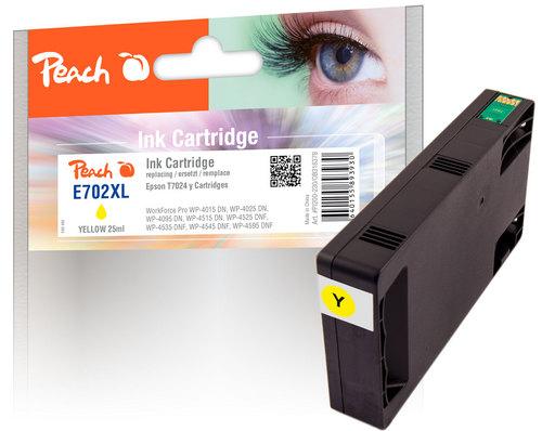 Peach Tintenpatrone gelb kompatibel zu Epson T7024