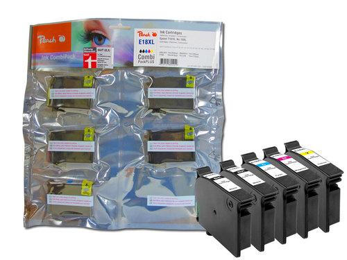 Peach Spar Pack Plus Tintenpatronen, kompatibel zu Epson T1816, No. 18XL