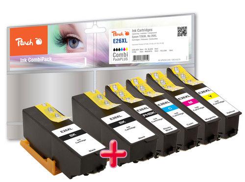 Peach Multipack Plus, XL compatible avec Epson No. 26XL, T263