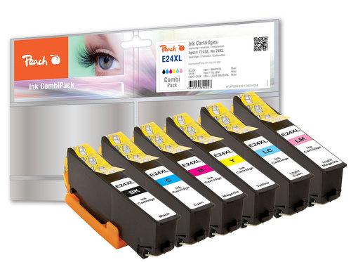 Peach Spar Pack Tintenpatronen HY kompatibel zu Epson No. 24XL, T243