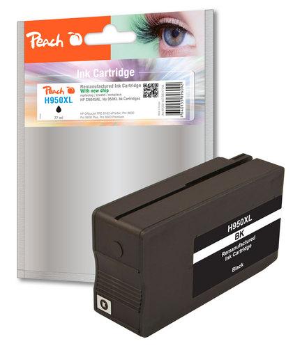 Peach Tintenpatrone schwarz HC kompatibel zu HP No. 950XL, CN045AE