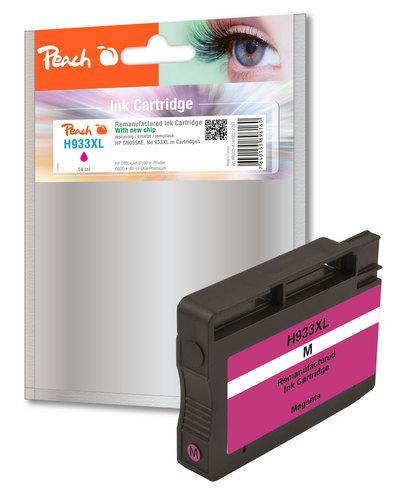 Peach Cartouche d'encre magenta HC compatible avec HP No. 933XL, CN055AE