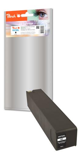 Peach Cartouche d'encre noire HC compatible avec HP No. 970XL, CN625AE