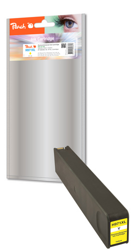 Peach Tintenpatrone gelb HC kompatibel zu HP No. 971XL, CN628AE
