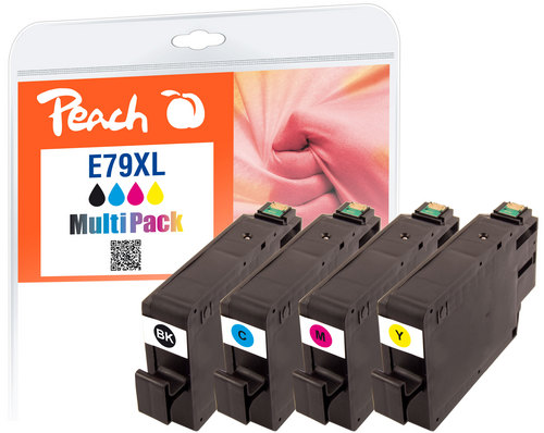 Peach Multipack, XL compatible avec Epson No. 79XL, T7905