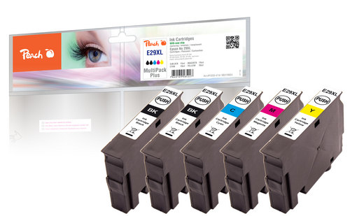 Peach Multipack Plus, XL compatible avec Epson No. 29XL, T2996