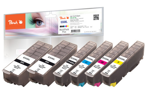 Peach Multipack Plus, XL compatible avec Epson No. 33XL, T3357