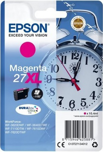 Epson 27XL, TPA magenta, 1'100 pages, 10.4ml