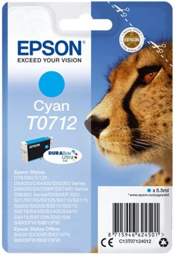 Epson T0712, TPA cyan, DuraBrite Ultra
