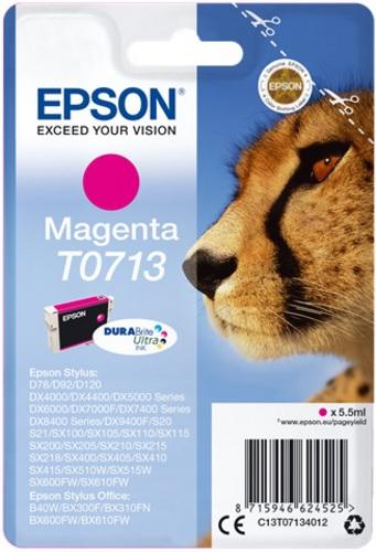 Epson T0713, TPA magenta, DuraBrite Ultra