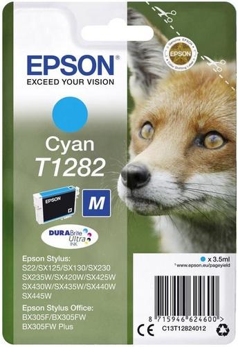 Epson T1282, TPA cyan, 3.5ml