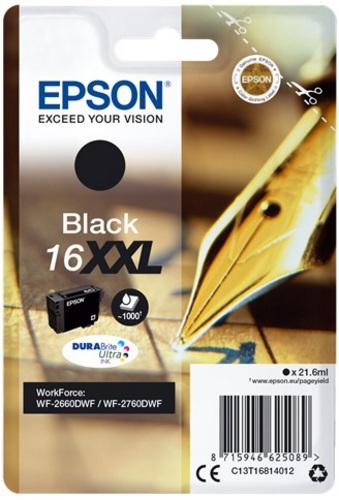 Epson 16XXL, TPA schwarz, 1'000s