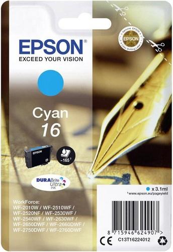 Epson 16, TPA cyan, 3.1ml, 165s