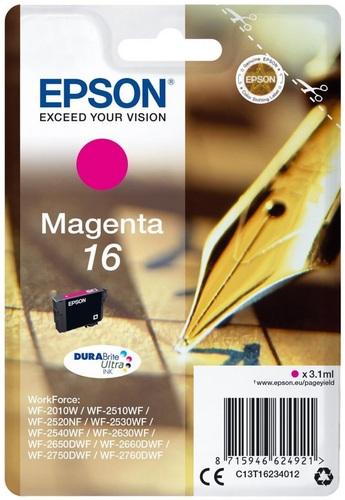Epson 16, TPA magenta, 3.1ml, 165s