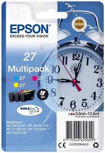 Epson 27 Multipack, TPA cyan, magenta und yellow