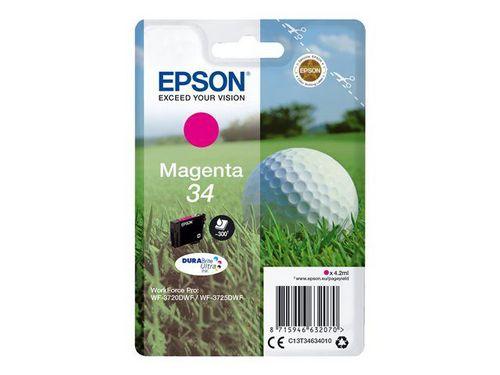 Epson 34 magenta, TPA DURABrite Ultra, 300 Seiten, 4.2ml