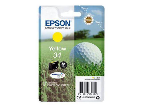Epson 34 yellow, TPA DURABrite Ultra, 300 Seiten, 4.2ml
