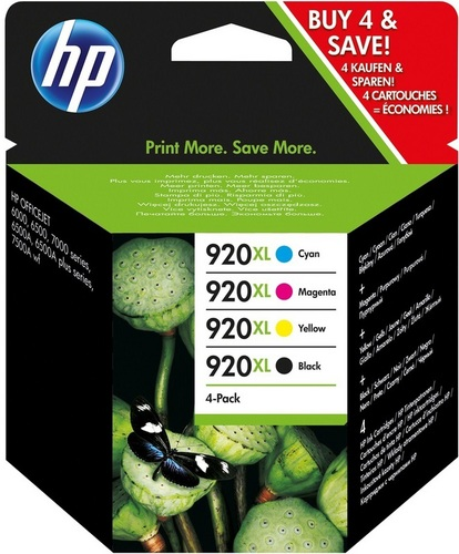 HP Nr. 920XL Combo Pack, TPA cyan, magenta und yellow