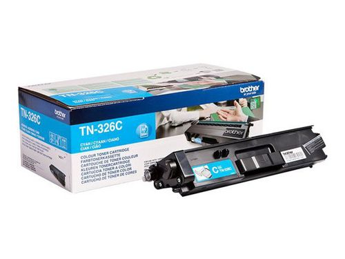 Brother TN-326C, Toner cyan, 3'500 Seiten