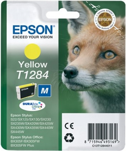 Epson T1284, TPA yellow, 3.5ml