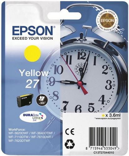 Epson 27, TPA yellow, 300 Seiten, 3.6ml