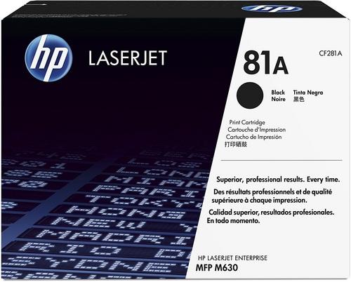 HP 81A, Toner schwarz, 10'500s