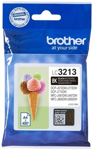 Brother LC3213BK, TPA schwarz, 400 Seiten
