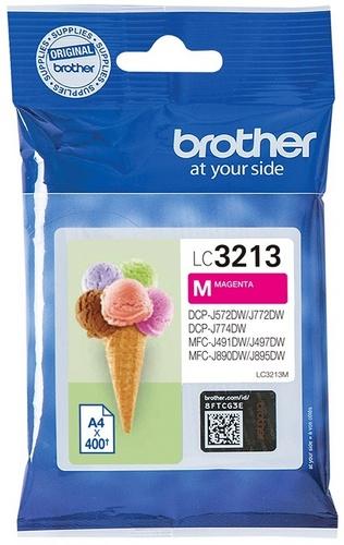 Brother LC3213M, TPA magenta, 400 Seiten