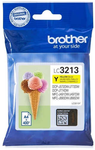 Brother LC3213Y, TPA yellow, 400 Seiten
