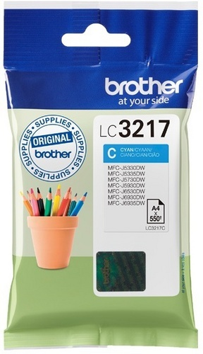 Brother LC3217C, TPA cyan