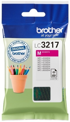 Brother LC3217M, cartouche d'encre magenta