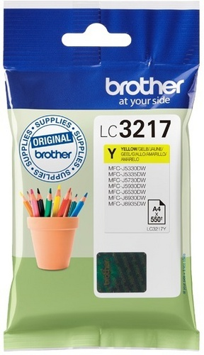 Brother LC3217Y, TPA yellow