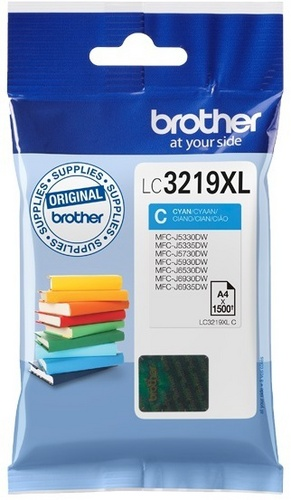 Brother LC3219XLC, cartouche d'encre cyan
