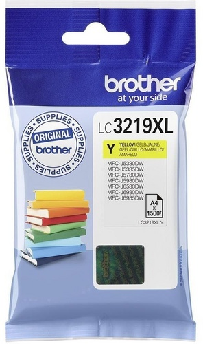Brother LC3219XLY, TPA yellow