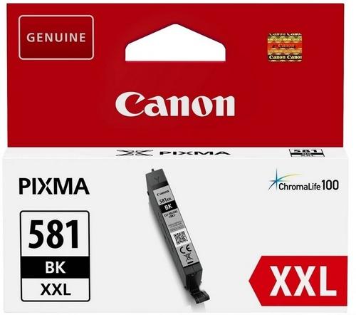 Canon CLI-581XXL BK, TPA fotoschwarz