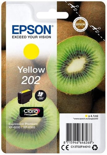 Epson 202, cartouche d'encre jaune
