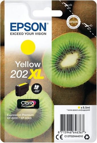 Epson 202XL, cartouche d'encre jaune